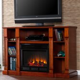 Caswell 52&quot; TV Stand with Electric Fireplace