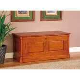 Wilsonville Solid Wood Cedar Chest in Oak