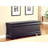 Winston Cedar Chest in Black