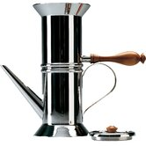 Miniature Neapolitan Coffee Maker in Mirror Polished by Dalisi Riccardo