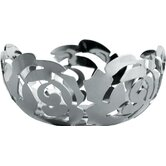 La Rosa by Emma Silvestris Stainless Steel Tealight Candle Holder
