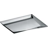 Cum Grano Salis Tray in Mirror Polished by Giovanni Alessi Anghini and Lorenzo Piccione di Pianogrillo