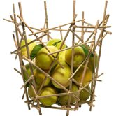 Blow-Up Bamboo Citrus Basket by Fratelli Campana
