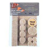 Heavy Duty Felt Gard Felt Pads (Set of 25)