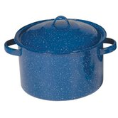 Enamel Stock Pot with Lid