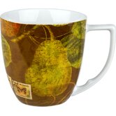 Accents Nature 12 oz. Pears Mug (Set of 4)