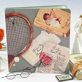 Sport Rules of Tennis Large Book Photo Album