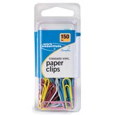 150 Count Vinyl Coated Standard Size Paper Clip