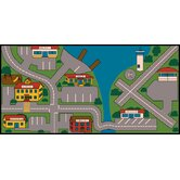 Play Carpet All Over Town Kids Rug