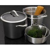 Contemporary Nonstick 8-qt. Pot Set