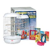 Living World Parakeet Rondeau Cage Starter Kit
