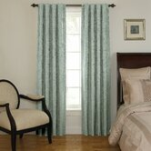 Room Darkening Backtab Window Treatment Collection in Blue River