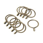 Curtain Ring with Eyelet (Set of 10)