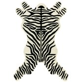 Safari Zebra Area Rug