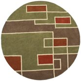 Structure Labyrinth Rug