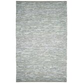 Matador Leather Chindi Grey Rug