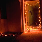 100 Light Pumpkin LED String Light