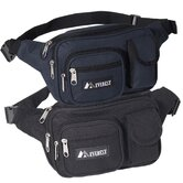 14&quot; Multiple Pocket Fanny Pack