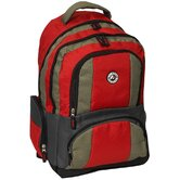 "12"" Deluxe Double Compartment Backpack"
