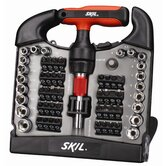 Skil Hand Tools 59 Piece Ratcheting T-Handle Screwdriver Set