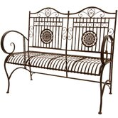 Oriental Furniture Outdoor Benches