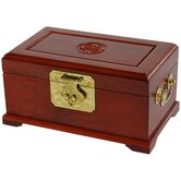 Rosewood Jewelry Box in Honey