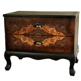 Olde-Worlde Euro Two Drawer Cabinet