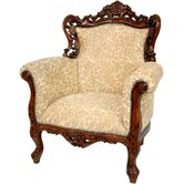 Queen Victoria Wing Chair