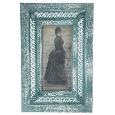 Rustic Bustled Lady Framed Picture