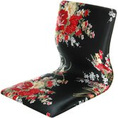 Tatami Hibiscus Meditation Fabric Lounge Chair