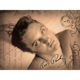 Elvis Presley Postcard Love Letter Wall Art