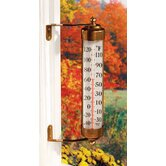 Vermont Grande View Thermometer in Brass