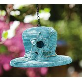 "9"" Dressy Hat Bird House"