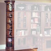 DaVinci Outside Corner Bookcase