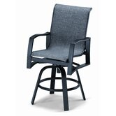 Momentum Counter Height Swivel Arm Chair
