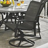 Momentum Sling Supreme Swivel Dining Arm Chair