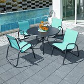 Gardenella 5 Piece Dining Set