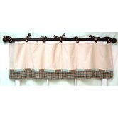 Mad About Plaid In Blue Curtain Valance