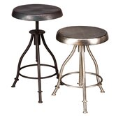 Iron Swivel Stool