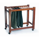 Pant Trolley in Dark Chocolate