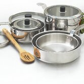 Eazistore Stainless Steel 10-Piece Cookware Set
