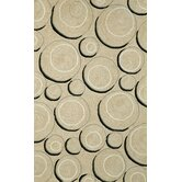 Spello Hoops Neutral Outdoor Rug