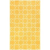 Capri Yellow Moroccan Tile Outdoor Rug