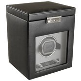 Viceroy Module 2.7 Single Watch Winder with Cover and Storage in Black