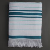 Ayrika Stripe Fouta Towel in Blue