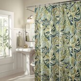 Island Breeze Shower Curtain in Blue