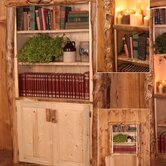 Silver Creek Bookcase with Two Doors