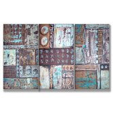 Aqua Dreams No.2 Triptych Wall Art