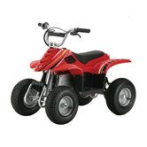 Dirt Quad Electric ATV in Red