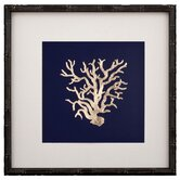 Gold Leaf Coral I Framed Graphic Art